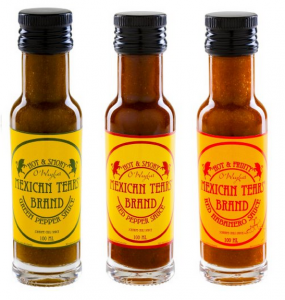 Mexican Tears – 3er Pack, scharfe Sauce aus Habaneros und Chipotle