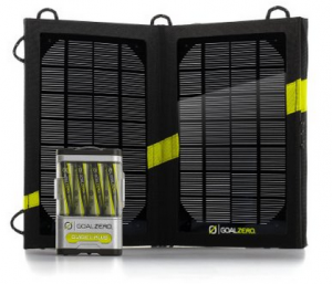 Goalzero Guide 10 Plus Solar Recharging Set
