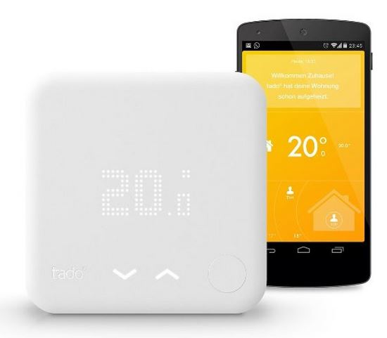 Tado Smart Thermostat V.2 – intelligente Heizungssteuerung